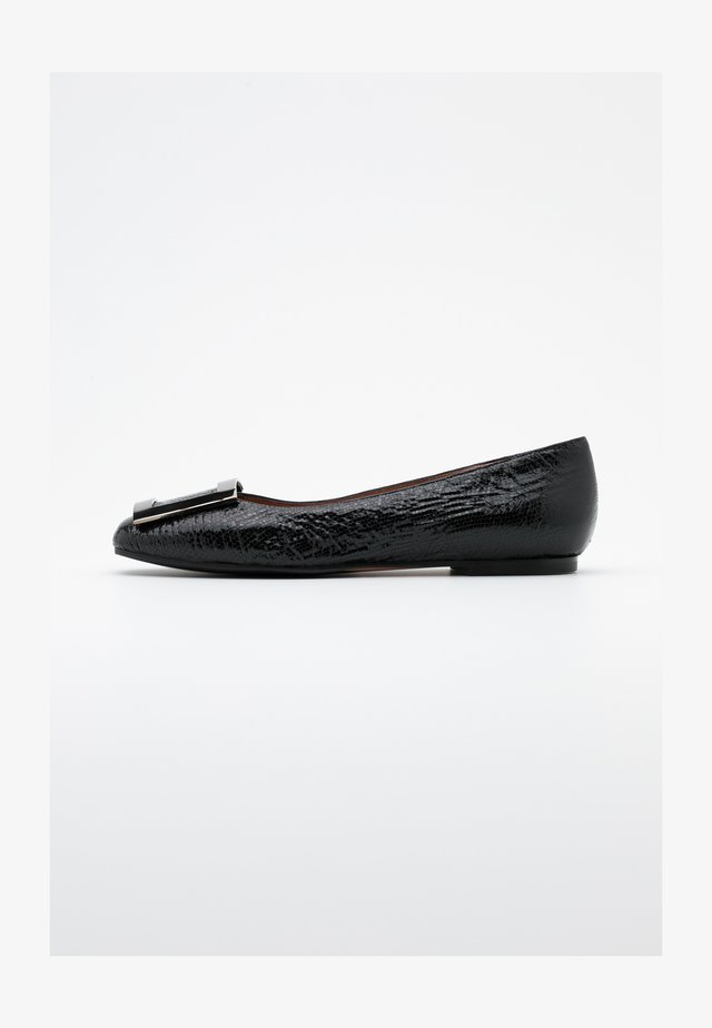 LORENA - Ballet pumps - glass nero