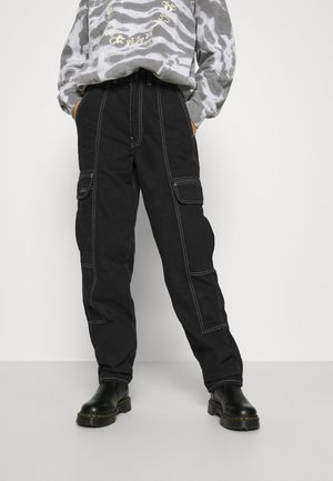 BLAINE - Relaxed fit jeans - clean black