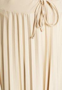 edc by Esprit - Veckad kjol - beige - 4