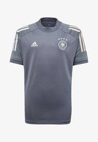 adidas Performance - DEUTSCHLAND DFB TRAINING SHIRT - Club wear - onix - 0