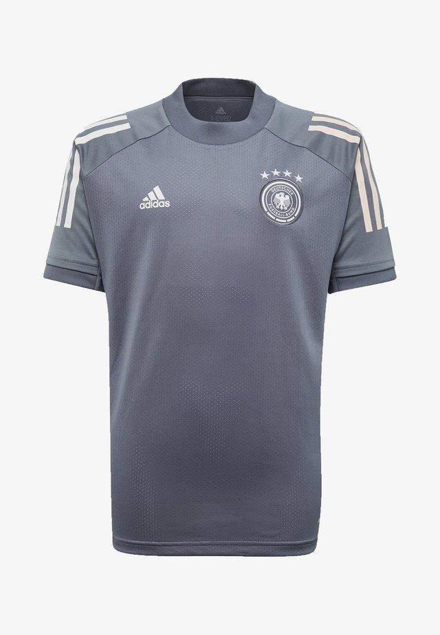 DEUTSCHLAND DFB TRAINING SHIRT - Klubové oblečení - onix