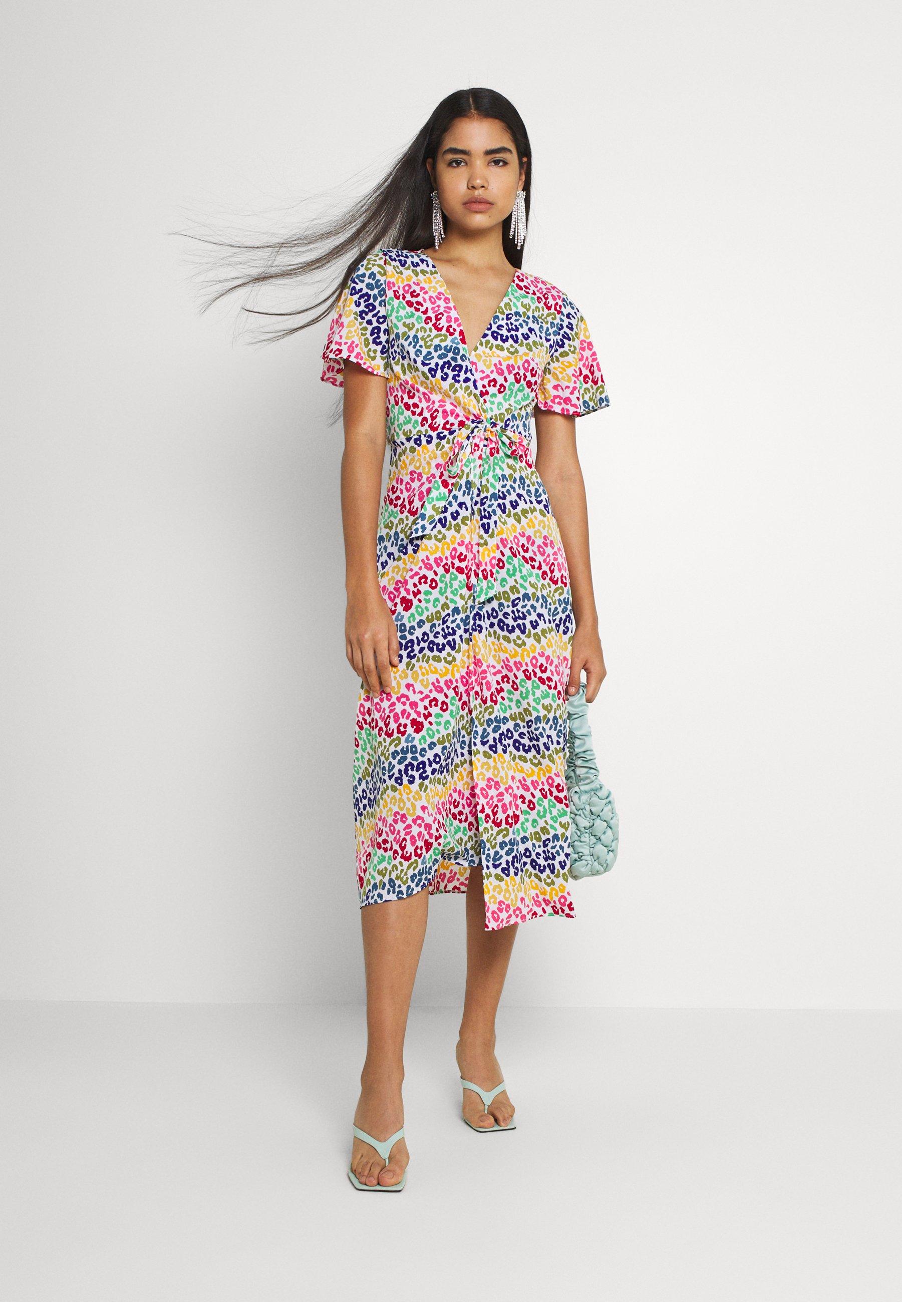 Women LUCIA RAINBOW WRAP DRESS - Maxi dress