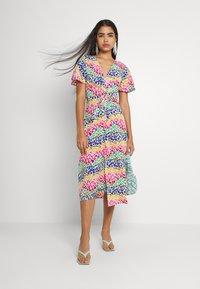 Never Fully Dressed - LUCIA RAINBOW WRAP DRESS - Maxi dress - multi - 0