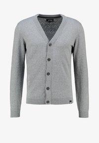 YOURTURN - Cardigan - grey melange - 4