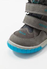 Lurchi - JAUFEN TEX - Winter boots - grey blue - 5
