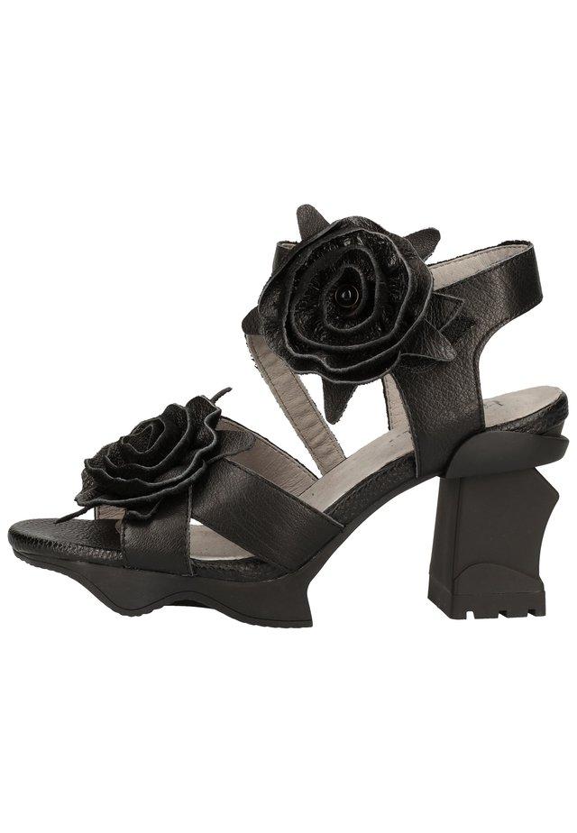 LAURA VITA SANDALEN - Sandales à talons hauts - noir