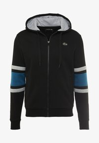 Lacoste Sport - Sweatjacke - black/illumination/silver chine - 4