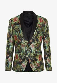 Isaac Dewhirst - FLORAL - Giacca - black - 5