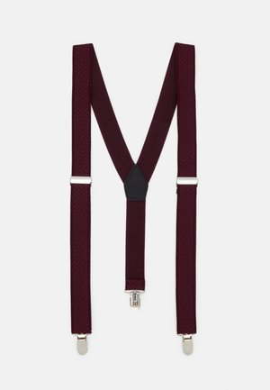 BRACE - Belte - burgundy