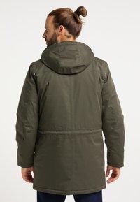 ICEBOUND - Winter coat - oliv - 2