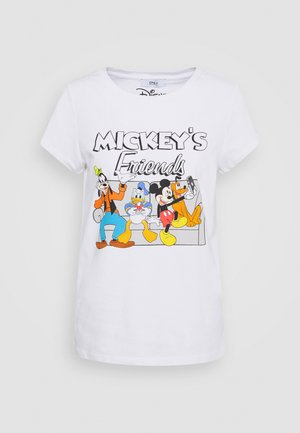 ONLDISNEY MIX BOX - T-shirt print - white