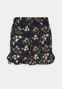 ONLY - ONLNOVA LUX FRILL  - Shorts - black/venus - 3
