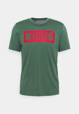 ALEX LOGO TEE - T-shirt med print - mallard green