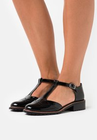 Anna Field - LEATHER  - Loafers - black - 0