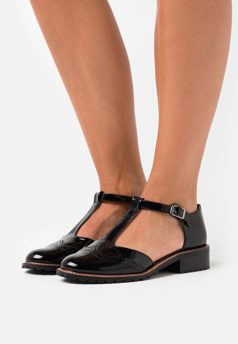 Anna Field - LEATHER  - Loafers - black
