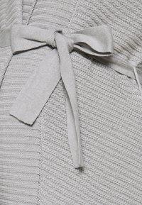 Anna Field MAMA - Chaqueta de punto - grey melange - 2