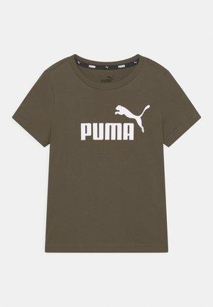 LOGO TEE UNISEX - Print T-shirt - grape leaf