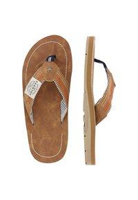 Gaastra - T-bar sandals - cognac - 1