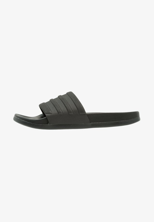 ADILETTE MONO - Pool slides - core black