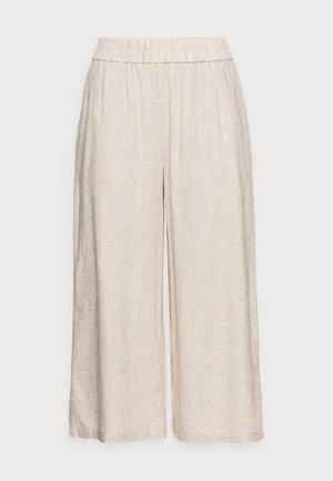 PCTONI CULOTTE - Trousers - birch