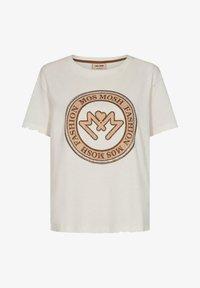 Mos Mosh - EDLES - Print T-shirt - weiß - 0