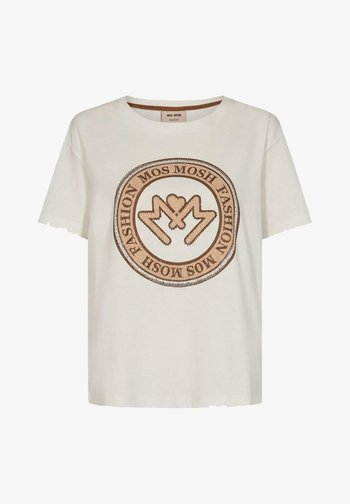 EDLES - Print T-shirt - weiß