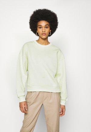 BASIC - Sweatshirt - lime cream
