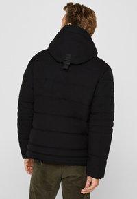 Esprit - MIT VARIABLER KAPUZE - Winter jacket - black - 2
