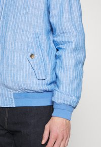 Polo Ralph Lauren - CITY  - Bomber bunda - capri blue/white - 3