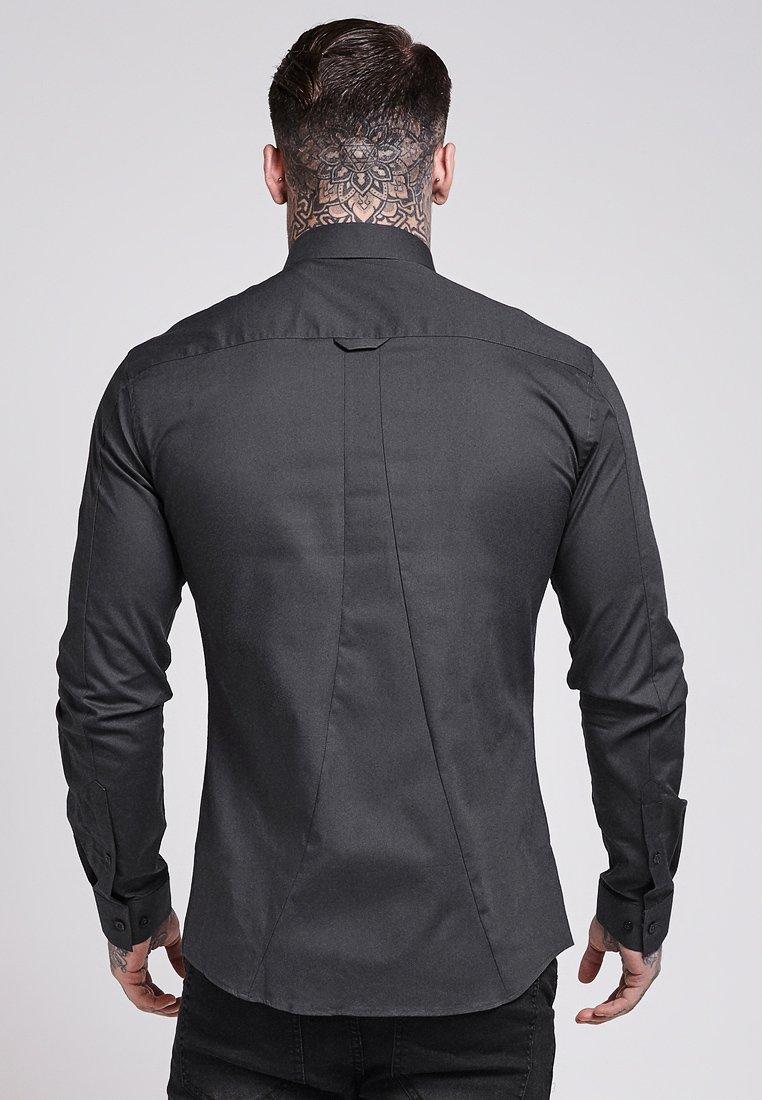 Siksilk Stretch - Koszula Dark Grey