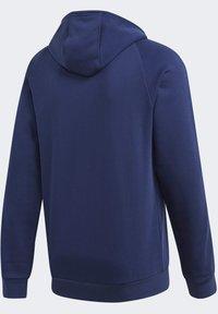 adidas Performance - CORE 19 HOODIE - veste en sweat zippée - blue - 9