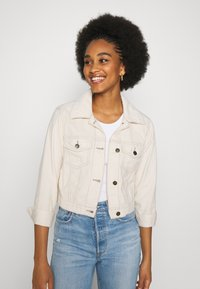 Hollister Co. - JACKET  - Summer jacket - cream - 0