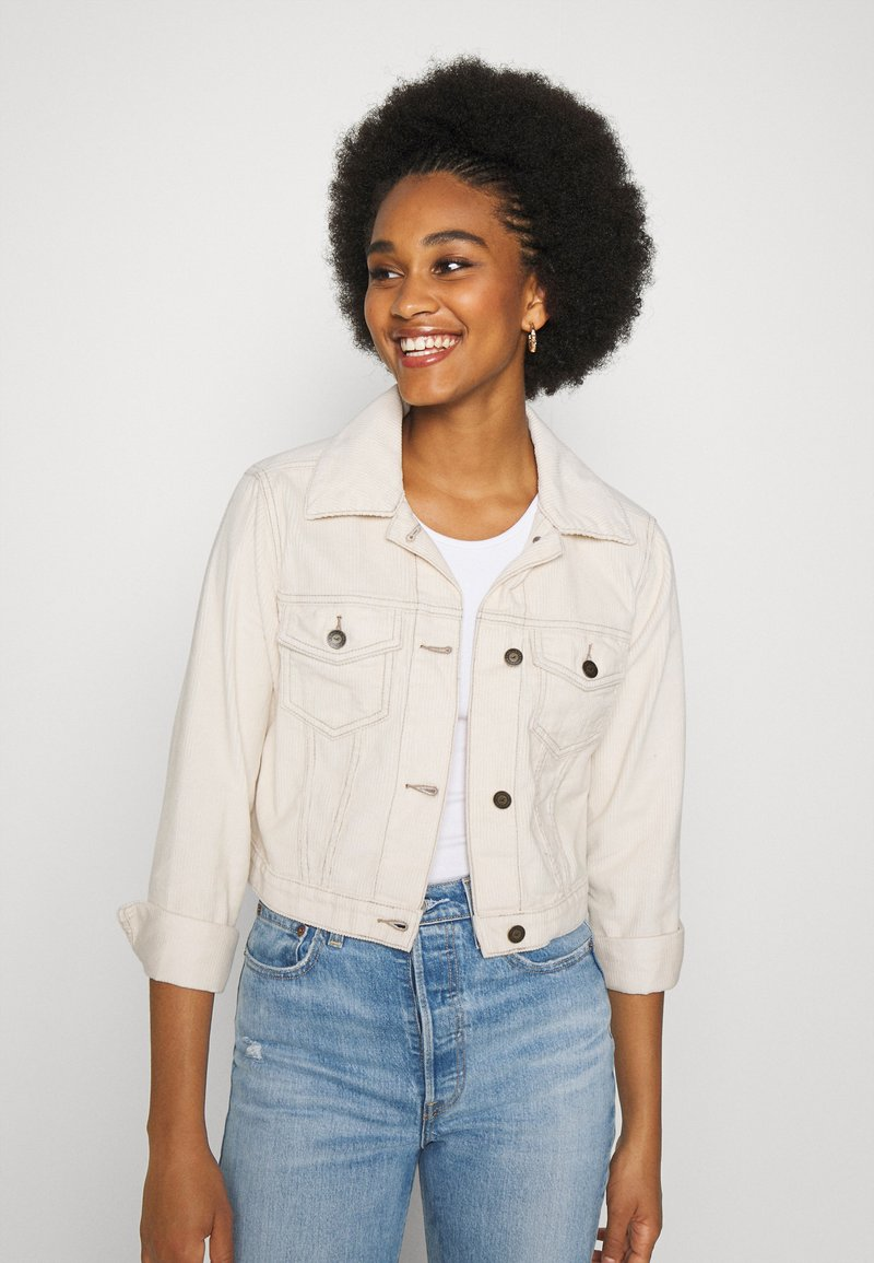 Hollister Co. - JACKET  - Summer jacket - cream