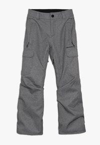 Volcom - CARGO PANT - Snow pants - heather grey - 0