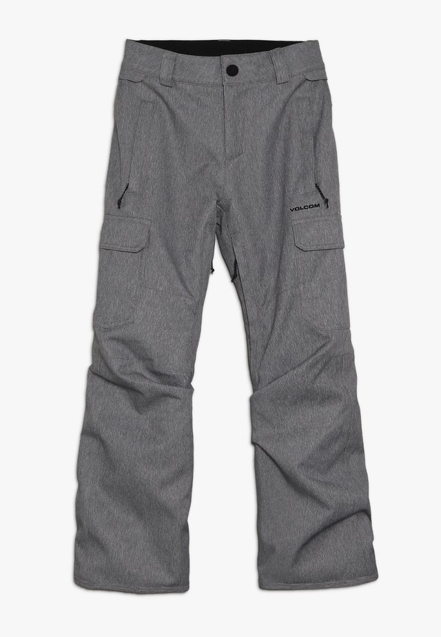 CARGO PANT - Snow pants - heather grey