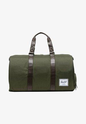 NOVEL - Weekend bag - ivy green / chicory coffee