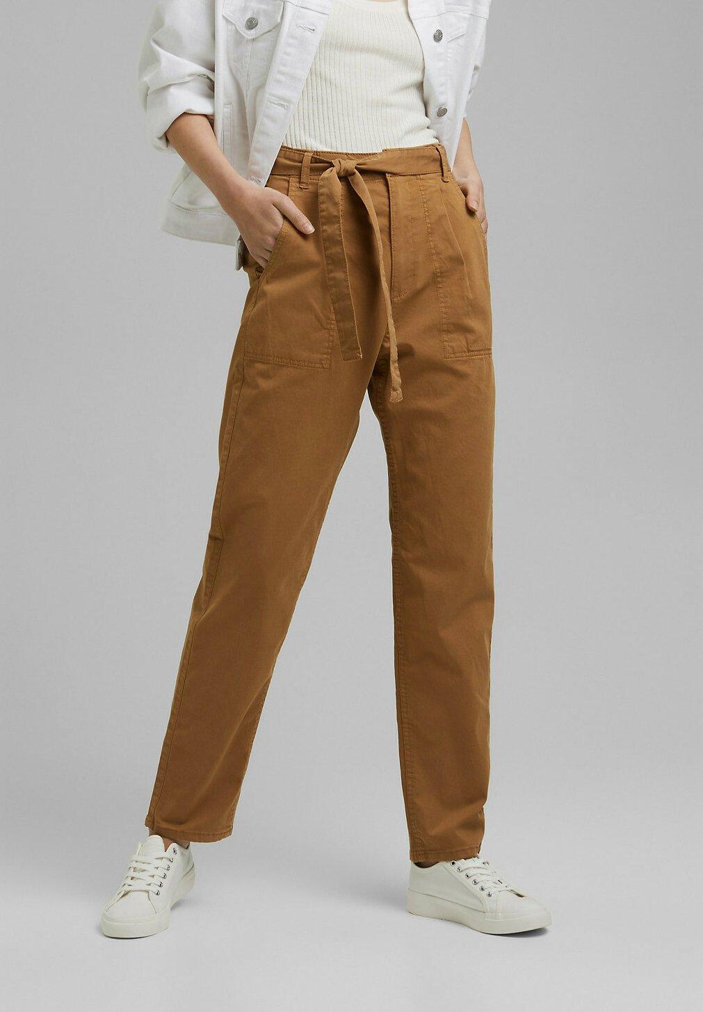 Femme PAPERBAG - Pantalon classique
