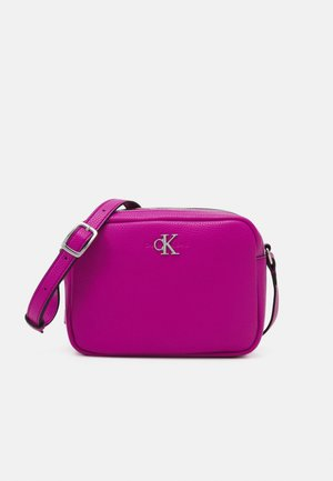 DOUBLE ZIP CROSSBODY - Borsa a tracolla - purple