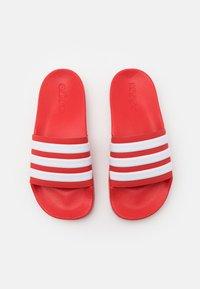 adidas Performance - ADILETTE UNISEX - Pool slides - scarlet/footwear white - 3