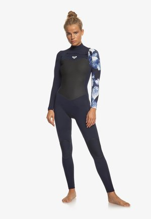Wetsuit - dark navy/white