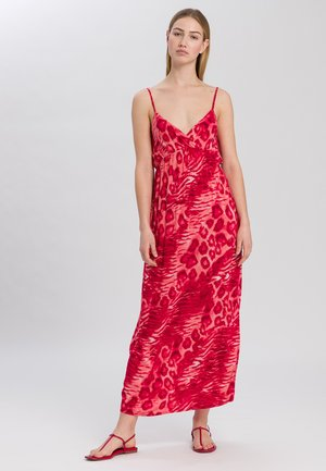 Maxi dress - red varied