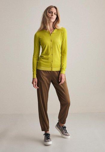 ULTRALIGHT - Cardigan - neon yellow