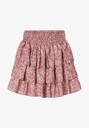 A-line skirt - adobe rose