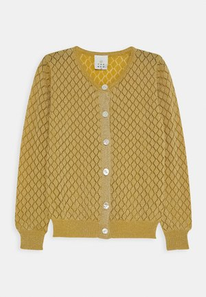 RUBY CARDIGAN - Strickjacke - sauterne