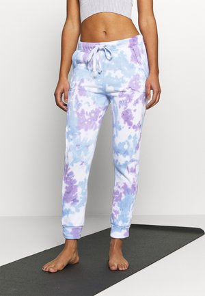 WORK IT OUT - Tracksuit bottoms - purple