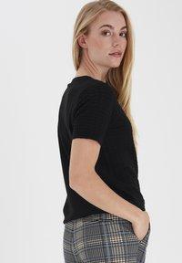 Fransa - T-shirts basic - black - 3