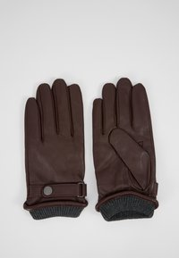 Pier One - TOUCH SCREEN - Gloves - dark brown - 3