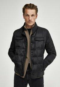 Massimo Dutti - Down jacket - black - 0