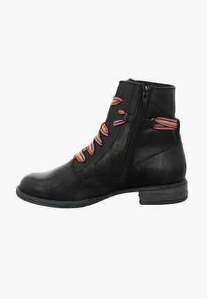 SANJA  - Lace-up ankle boots - schwarz