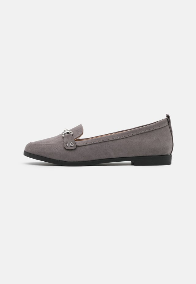 LULA SNAFFLE LOAFER - Slip-ons - grey